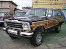 1990年式 ジープ グランドワゴニア 4WD ブラック/バーガンディー